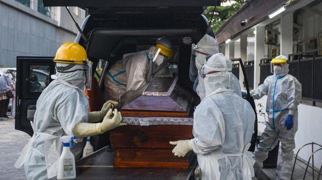 Ilustrasi. Berdasarkan data IDI, dokter yang meninggal usai terpapar Covid-19 mencapai 224 orang. Kematian dokter paling banyak terjadi pada Desember 2020. (ANTARA FOTO/FB Anggoro)