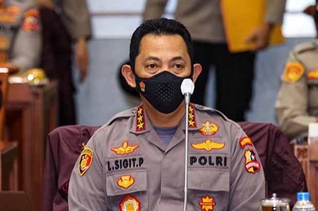 Komjen Pol Listyo Sigit Prabowo telah disetujui secara aklamasi oleh anggota DPR menjadi Kapolri. FOTO/DOK.SINDOnews