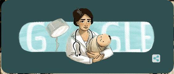 Google Doodle Hari ini Marie Thomas
